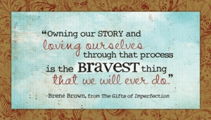 Owning our story B Brown